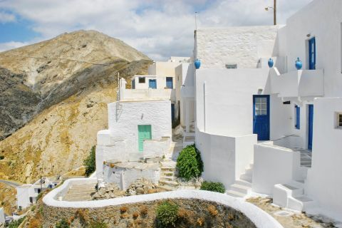 Cycladic houses on Serifos.