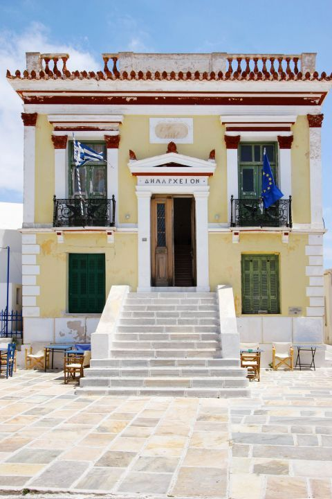 The Town Hall of Serifos
