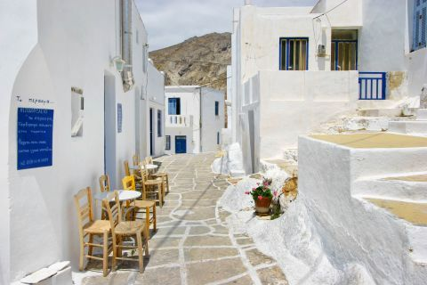 A picturesque spot in Chora.