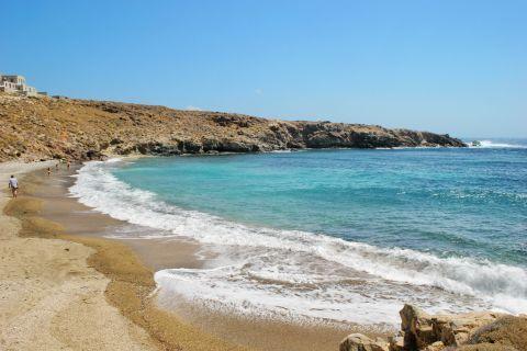 Lia beach, Serifos.