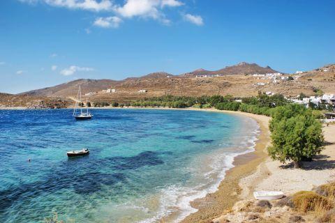 Crystal clear waters. Livadakia beach, Serifos.