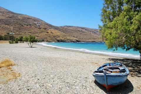 A quiet spot. Sikamia beach, Serifos.