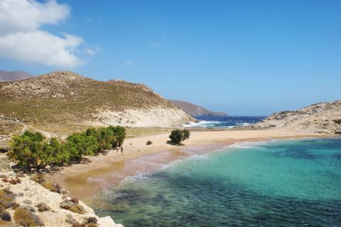 Agios Sostis beach. A pure, unspoiled place.