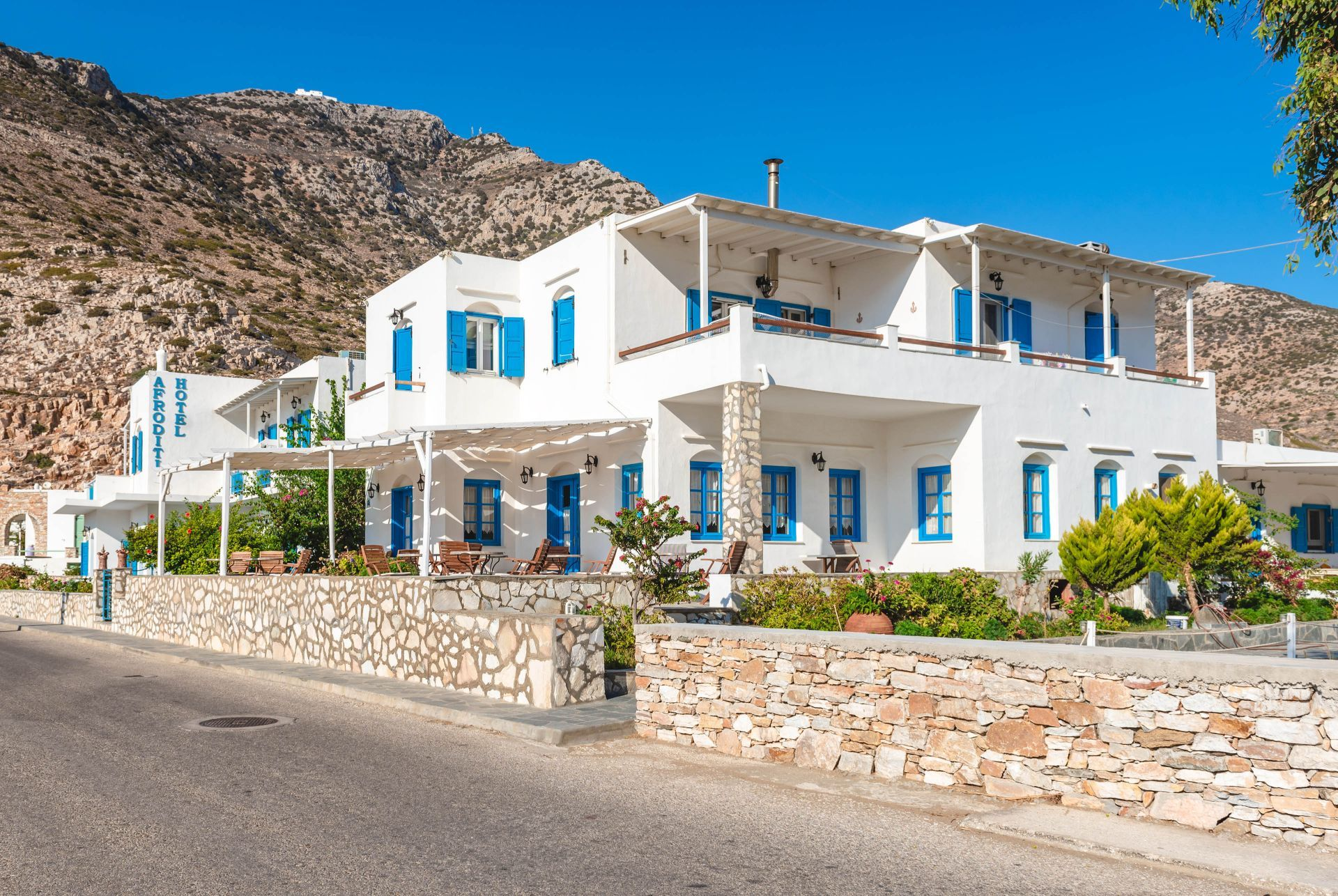 Accommodation and hotels in Sifnos