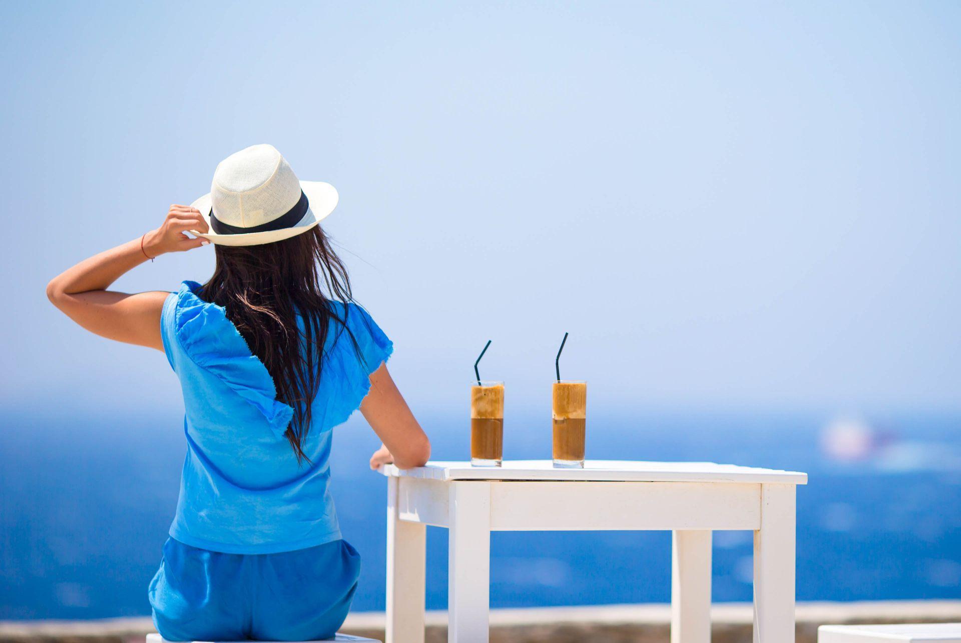 Cafe in Sifnos