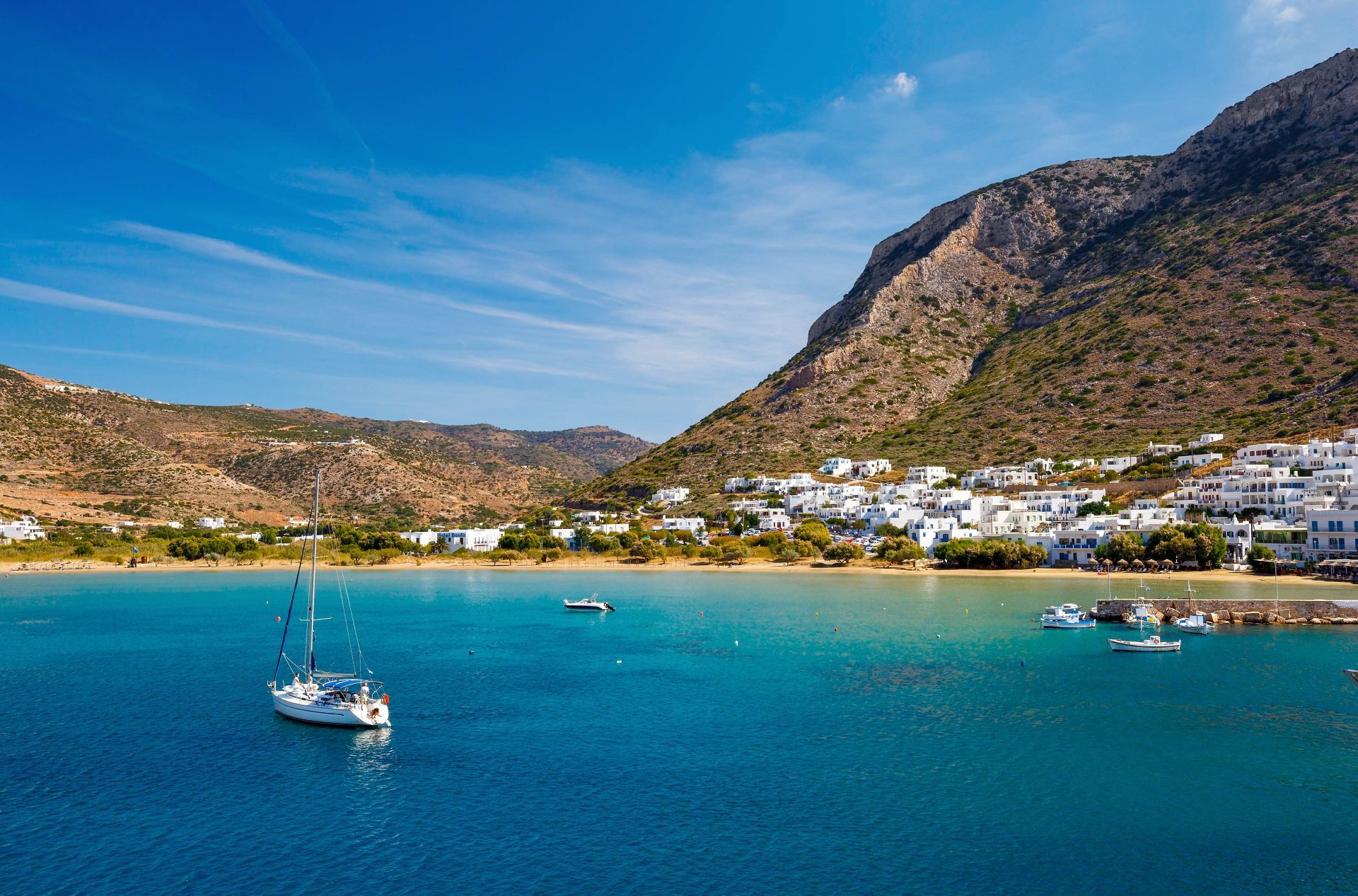 Sifnos island: Kamares Beach