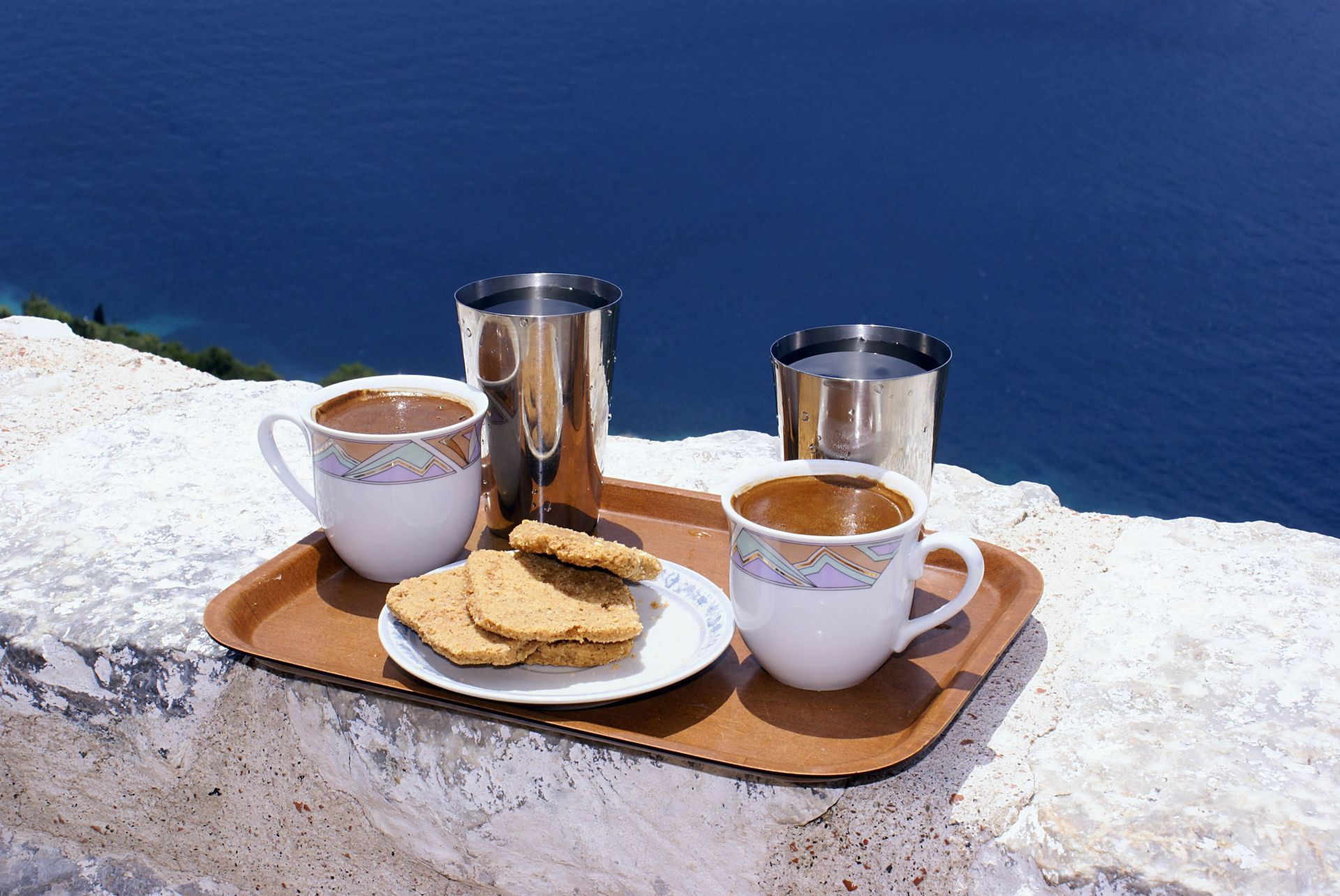 Cafe in Sikinos