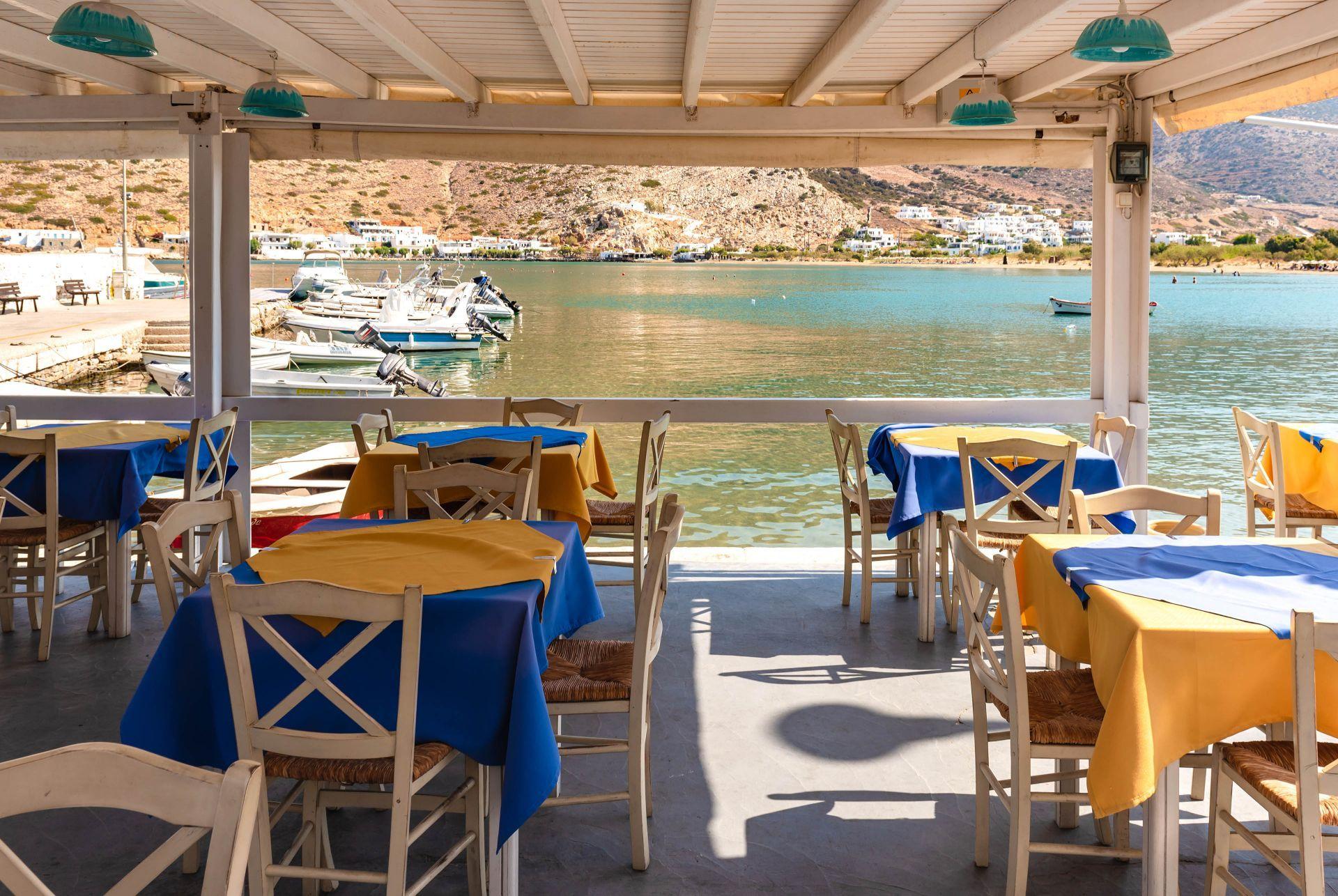 Restaurants in Sikinos