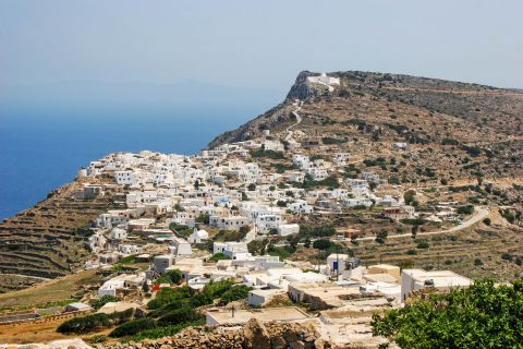 View of Chora, Sikinos
