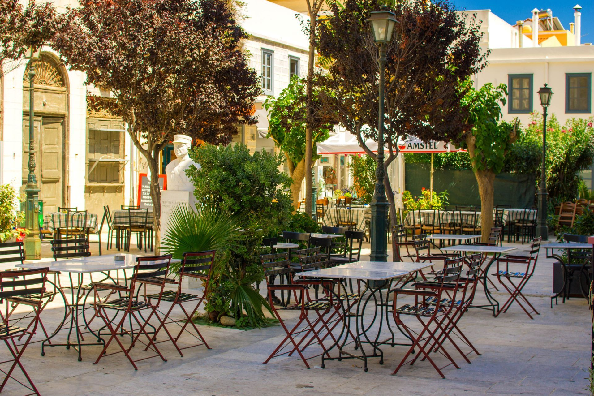 Cafes in Syros