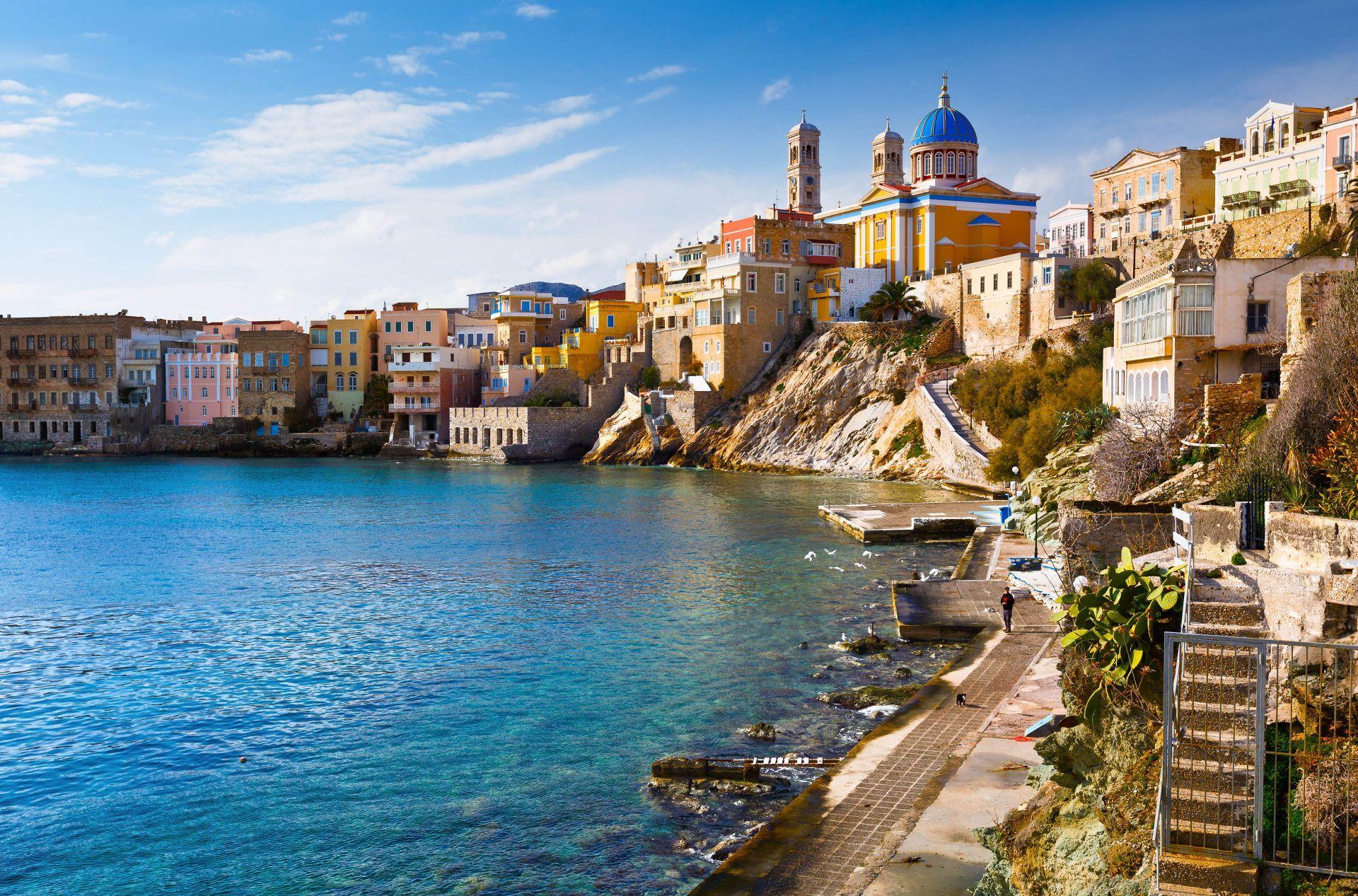 Syros island: Ermoupolis