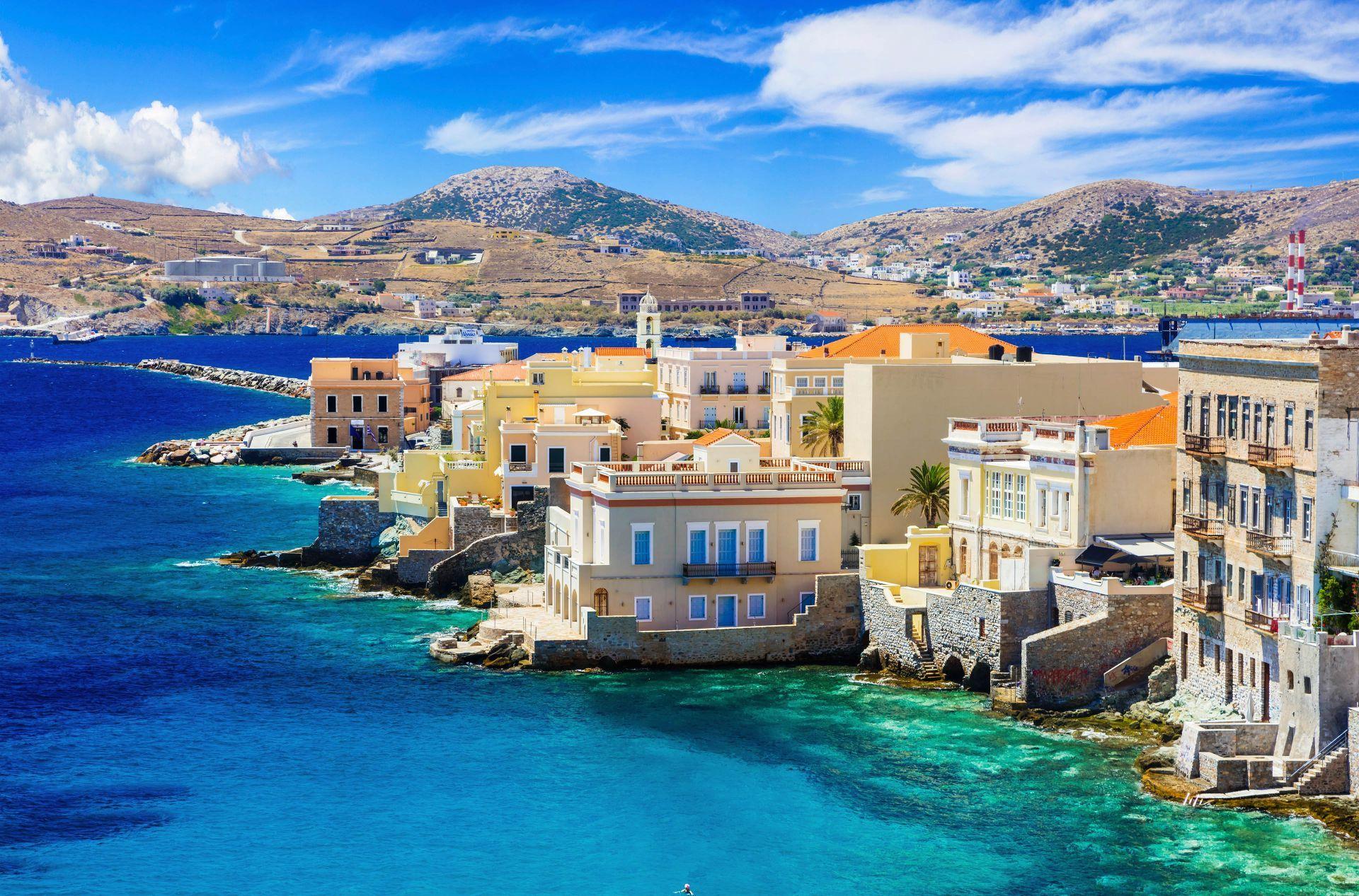 Syros island: Vaporia