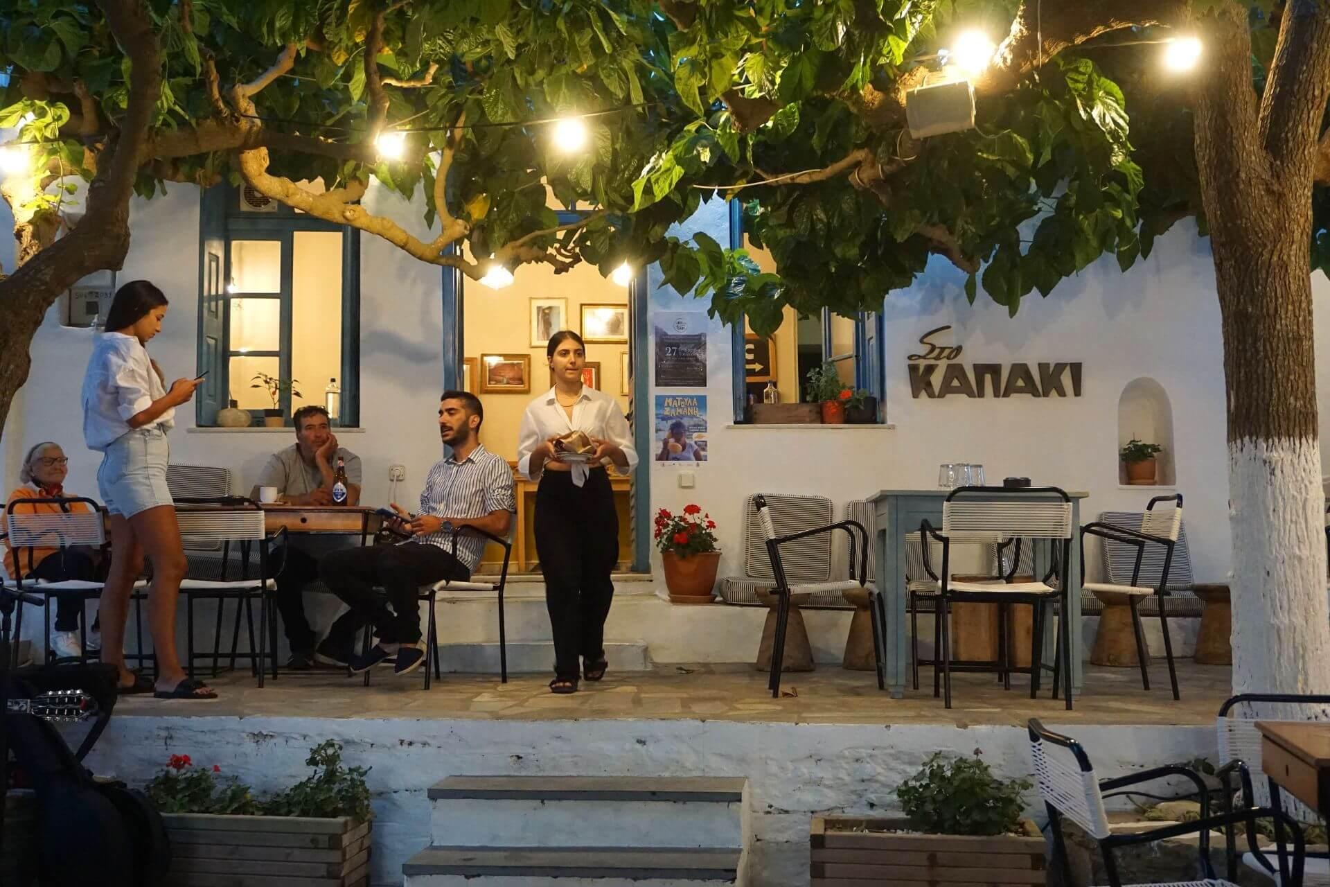 Restaurants in Tinos