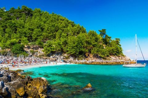 Best 33 Beaches In Thassos Island Greekacom