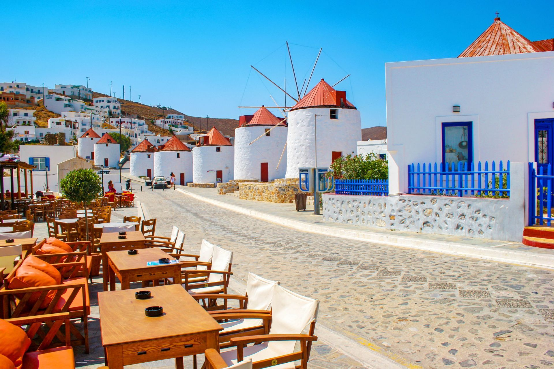 Places to eat and drink in Astypalea