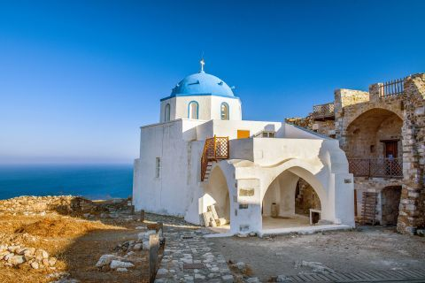 The chapel of Megali Panagia