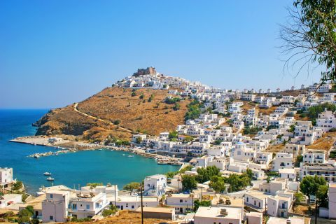 View of Astypalaia