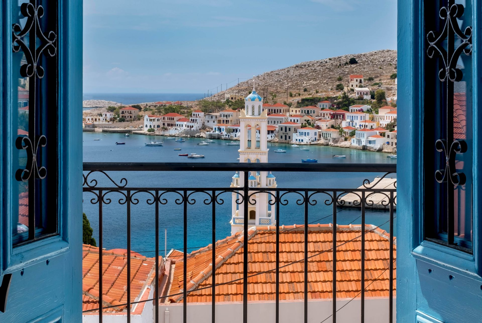 Accommodation and hotels in Halki