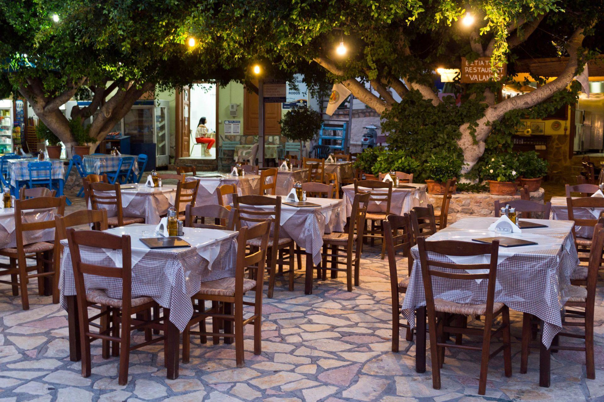 Restaurants in Halki