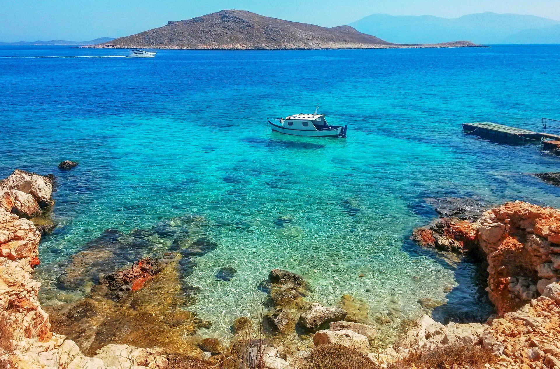 Halki island: Beaches