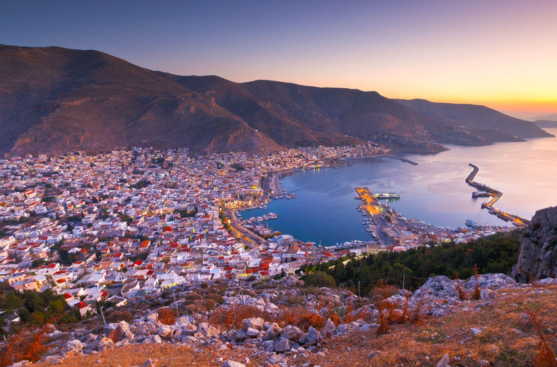 Kalymnos island: Pothia Town