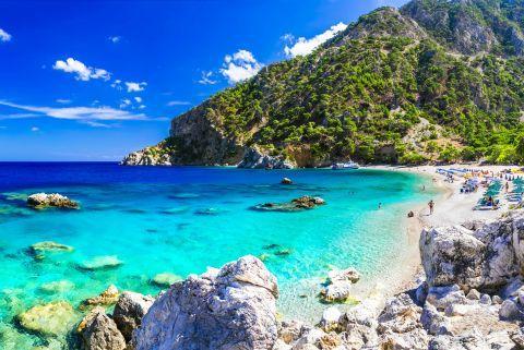 Wonderful beaches in Karapathos.