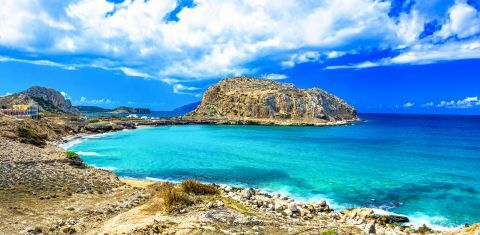 Amazing waters, Karpathos.