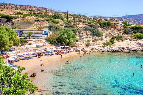 Mikri Amopi beach, Karpathos.