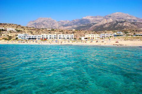 Azure waters. Lefkos beach, Karpathos.