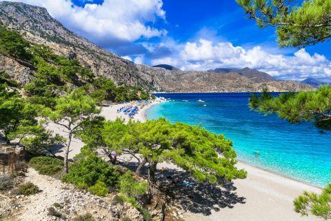 Lovely beach, Karpathos.