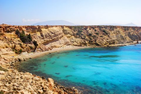 Breathtaking nature. Agios Theodoros beach, Karpathos.