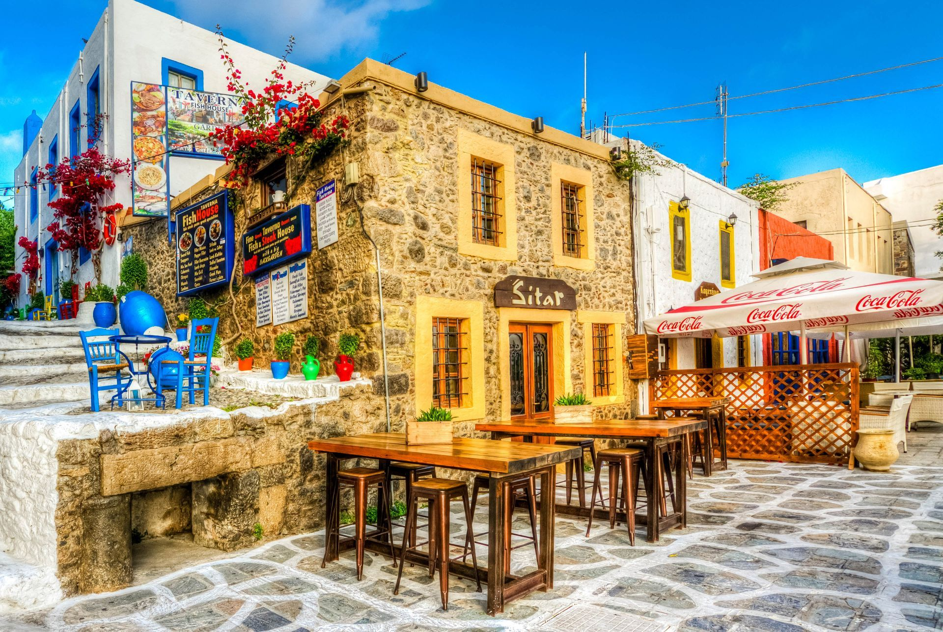 Cafes in Kos