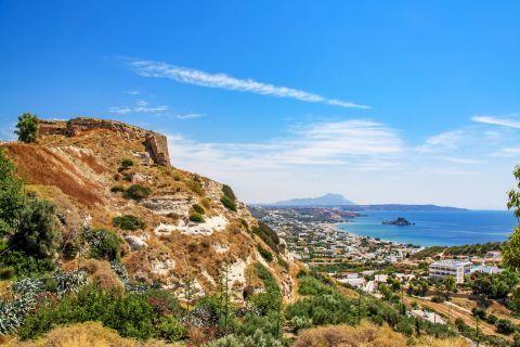 View of Kefalos village, Kos.