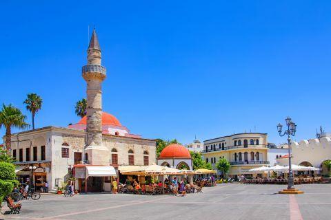 The Ottoman Mosque in Kos Town.