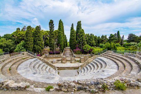 The Roman Odeon of Kos island.