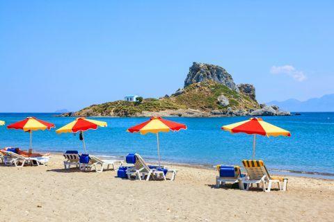 Agios Stefanos beach, Kos.