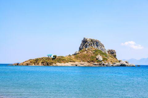 View of Kastri islet.