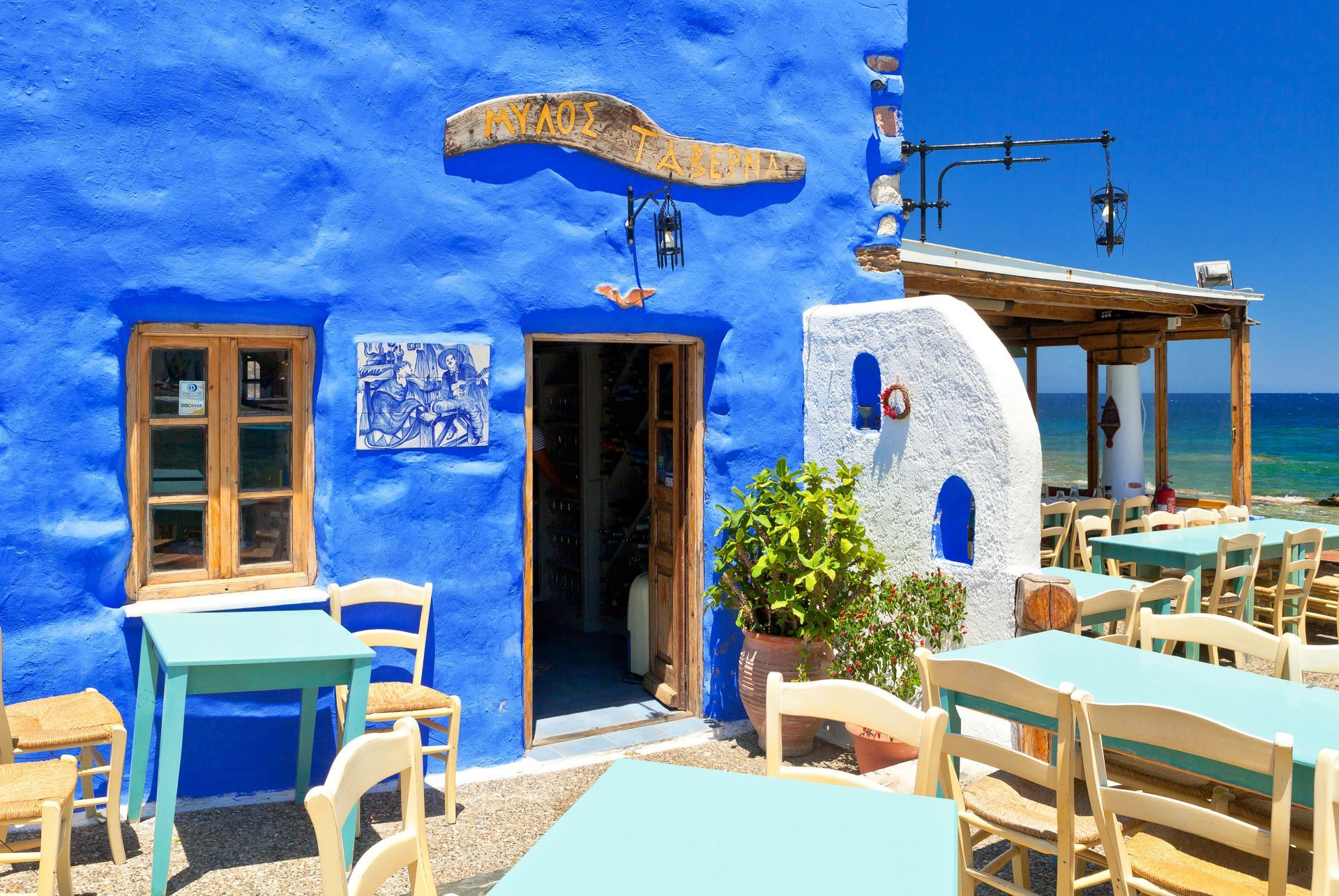 Places to eat and drink in Leros