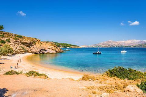 Kokkina beach, Leros.