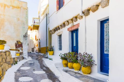 Traditional architecture in Leros.