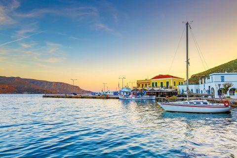 Agia Marina port, Leros.