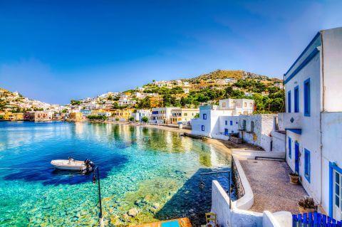 Crystal clear waters, Agia Marina, Leros
