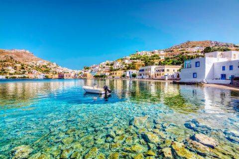 The amazing waters of Leros