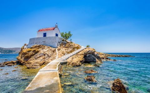 The picturesque chapel of Agios Isidoros