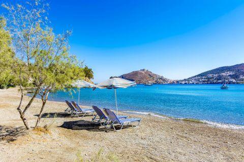 A relaxing spot in Alinda beach