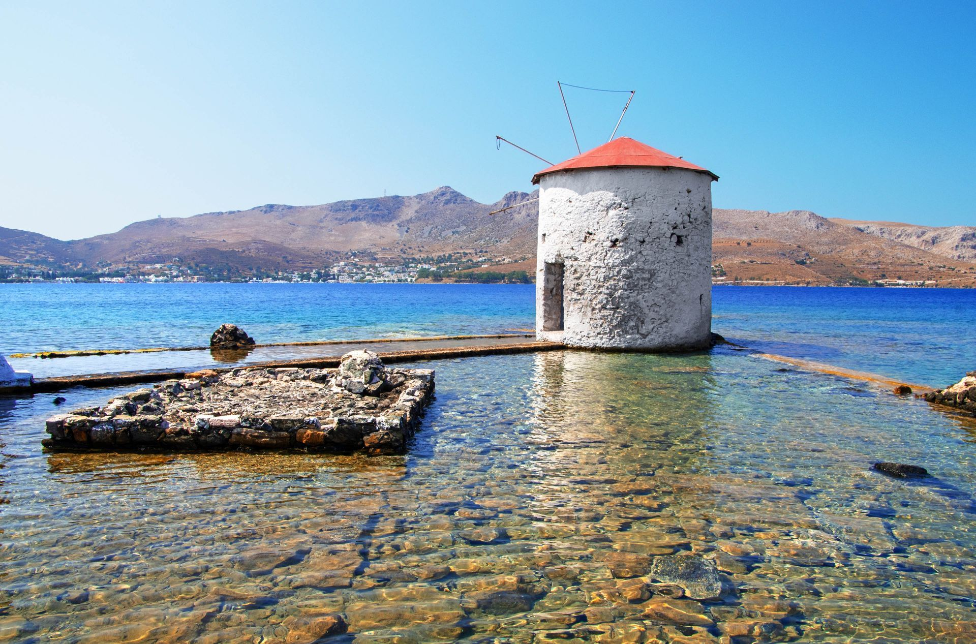 Leros island: Flour Mill