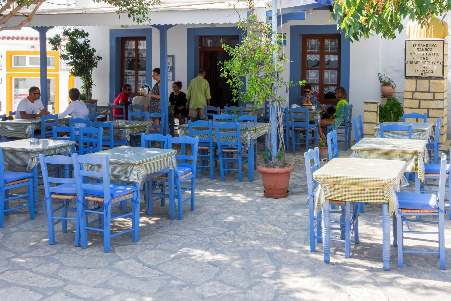 Restaurants in Lipsi
