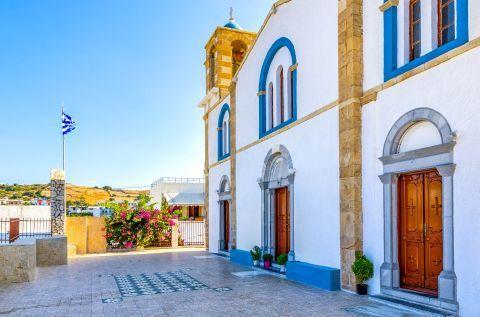 The church of Agios Ioannis Theologos.