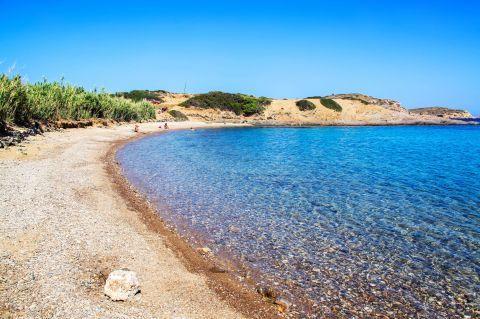 Papandria beach, Lipsi