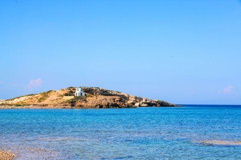 View from Tourkomnima beach.